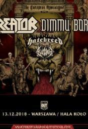 Kreator, Dimmu Borgir + Hatebreed+ Bloodbath