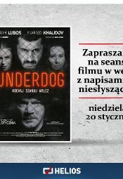 """""""Underdog"""" w wersji z napisami dla osób niesłyszących"""