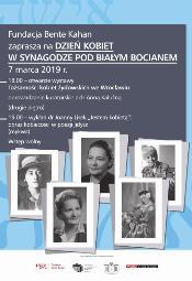 Dzień Kobiet w Synagodze Pod Białym Bocianem