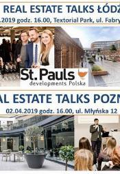 Real Estate Talks w Łodzi i Poznaniu
