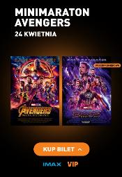 Maraton Avengers w Cinema City