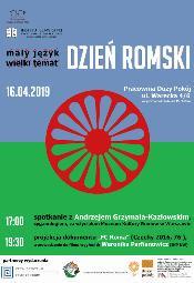 Dzień Romski - wykład i projekcja filmu