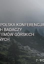 III Ogólnopolska Konferencja Młodych Badaczy Ekosystemów Górskich i Polarnych