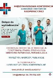 Międzynarodowa Konferencja Chirurgii i Ortopedii Nieoperacyjnej 2019