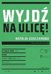 Rosyjski performans / Spotkanie z Natalią Gonczarową
