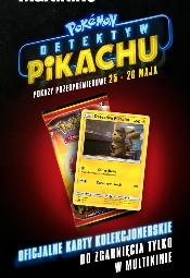 """""""Pokemon: Detektyw Pikachu"""" przedpremierowo w Multikinie"""