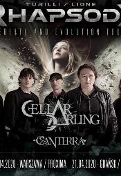 Turilli / Lione Rhapsody + Cellar Darling + Canterra