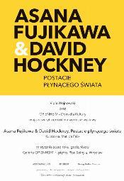 Asana Fujikawa&David Hockney. Postacie płynącego świata