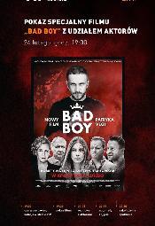"""VIP-owski pokaz filmu """"Bad Boy"""" w Cinema City Wroclavia"""