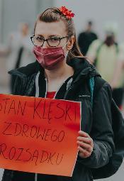 Protest w obronie demokracji we Wrocławiu