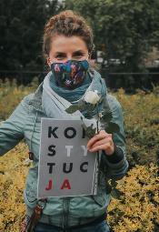 Protest przeciwko cenzurze we Wrocławiu