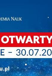 Dni Otwarte w Społecznej Akademii Nauk [30 lipiec 2020]