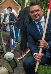 Obchody 76. rocznicy Powstania Warszawskiego w Łodzi