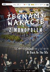 Scena pod Regałem - koncert na dachu Monopolu