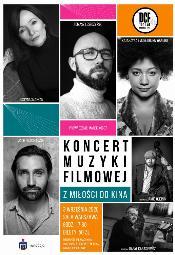Z miłości do kina - koncert muzyki filmowej