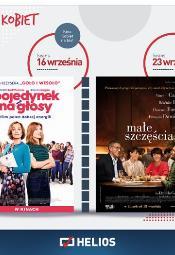 Kino Kobiet w Heliosie: Pojedynek na głosy / Małe szczęścia
