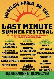 Last Minute Summer Festival - dzieńtrzeci