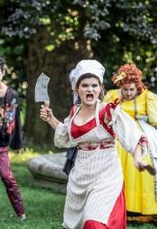 """Los Mimos"" w Ogrodzie Pantomimy"