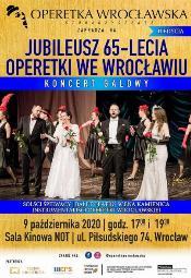 Gala jubileuszu 65-Lecia Operetki we Wrocławiu