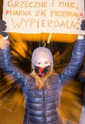 Strajk Kobiet: Manifa w Poznaniu
