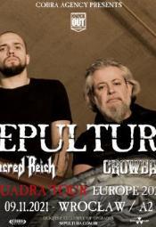 Sepultura, Sacred Reich, Crowbar