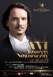 XVI Koncert Noworoczny live online prosto z Filharmonii Narodowej
