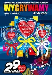 29. Finał WOŚP 2021 w Kielcach - program