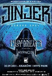 JINJER + HUMANITY'S LAST BREATH + HYPNO5E