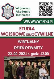 Wirtualny Dzień Otwarty w Wojskowej Akademii Technicznej
