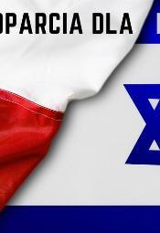 Wiec poparcia dla Izraela