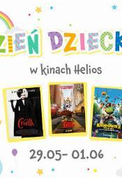 Filmowy Dzień Dziecka w kinach Helios
