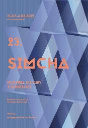 23. Festiwal Kultury Żydowskiej Simcha - blok koncertowy