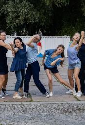 XVII Międzynarodowy Festiwal Tańca Zawirowania - dzień pierwszy