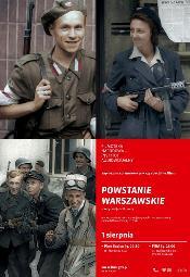 Powstanie Warszawskie - plenerowe pokazy filmu