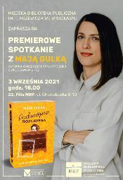 Podwójna rozgrywka - premiera książki i spotkanie z Mają Gulką