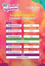 Festiwal Kolorów w Chorzowie