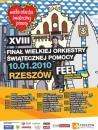 XVIII Finał WOŚP w Rzeszowie - program