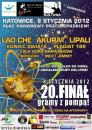 20. Finał WOŚP w Katowicach - program