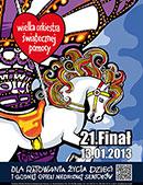 21. Finał WOŚP 2013 w Olsztynie - program