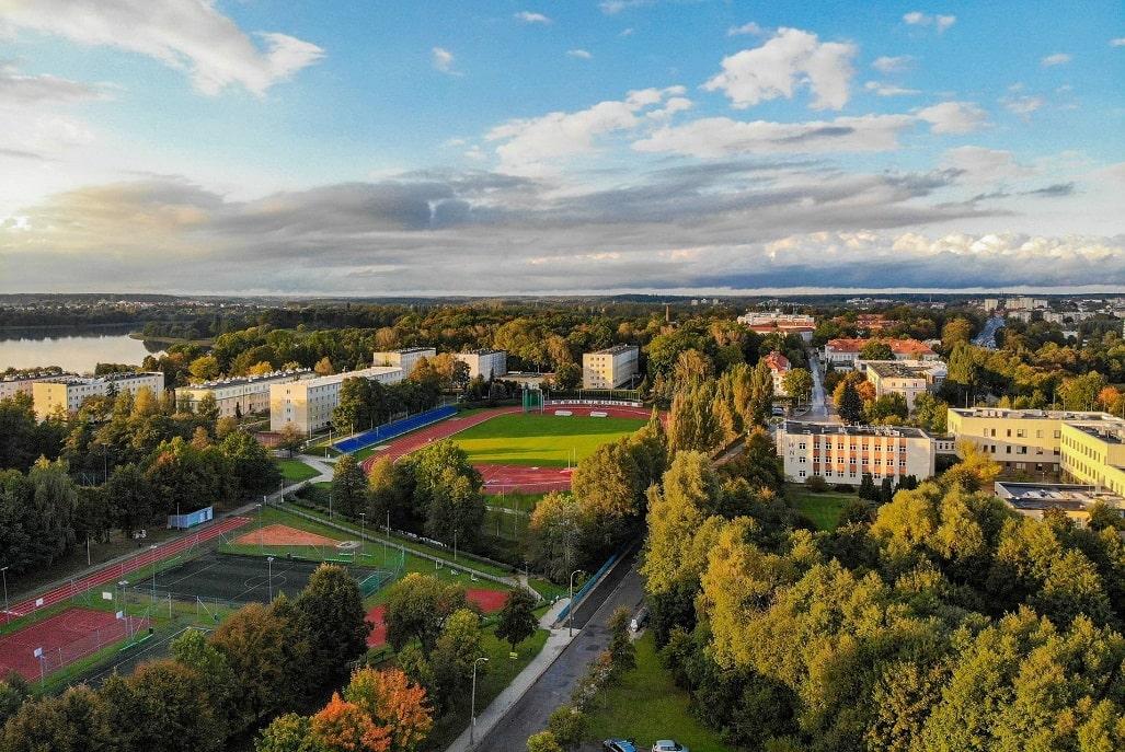 Kortowo - kampus