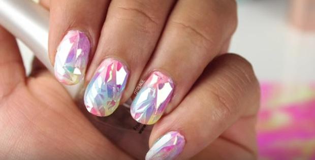 Szklane Paznokcie Hit Lata Zobacz Jak Wykonać Taki Manicure