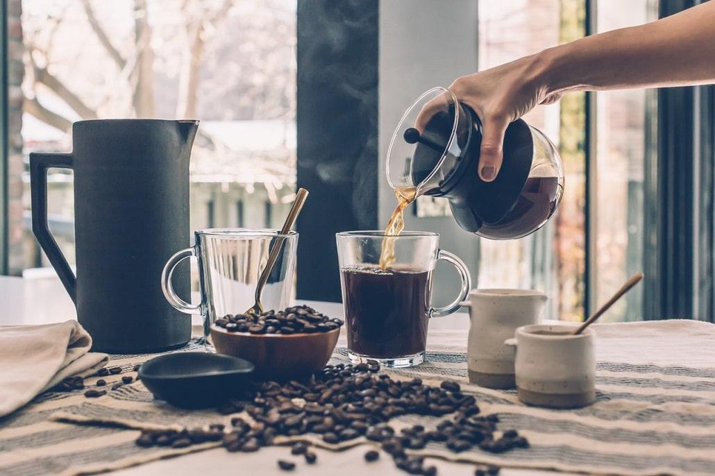 Proces przygotowywania kawy