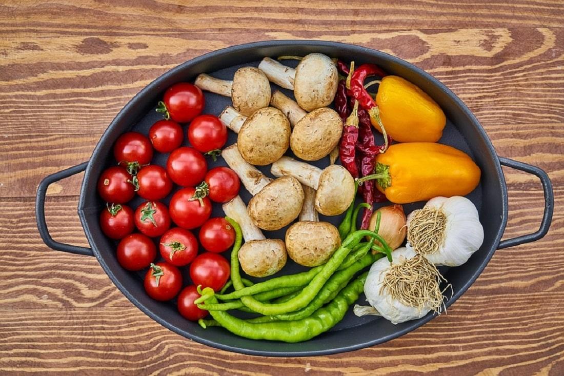 Warzywa w naczyniu