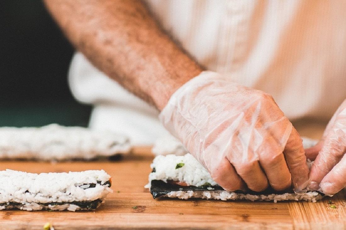 Proces powstawania sushi