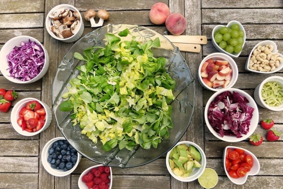 sałatka, zdrowa dieta