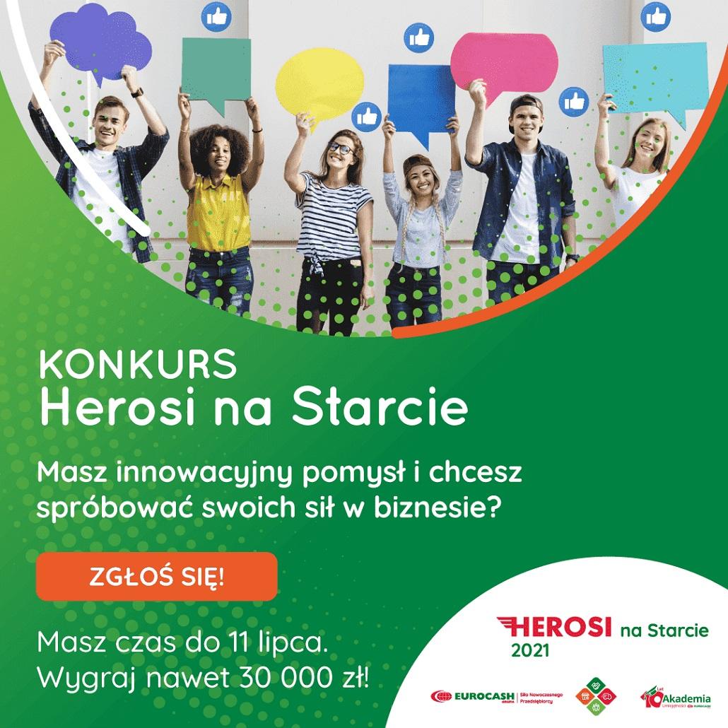 Herosi na Starcie - nowy konkurs startupowy!