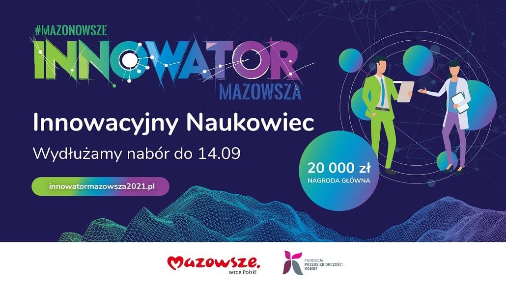 Innowator Mazowsza - fundacja kobiet. Wydłużono termin składania wniosków w konkursie