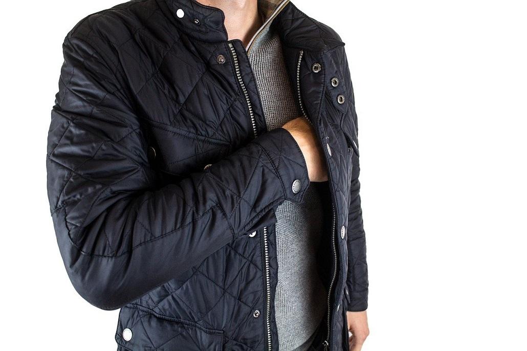 Męska kurtka puchowa na jesień i zimę