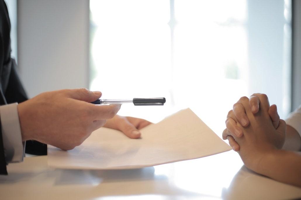 Podpisanie umowy kredytowej