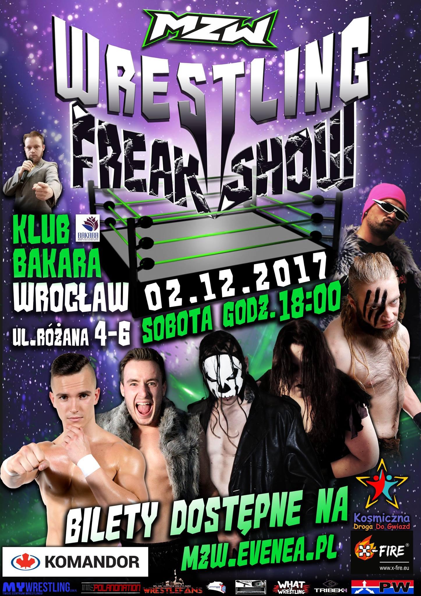 Maniac Zone Wrestling już 2-go grudnia we Wrocławiu!